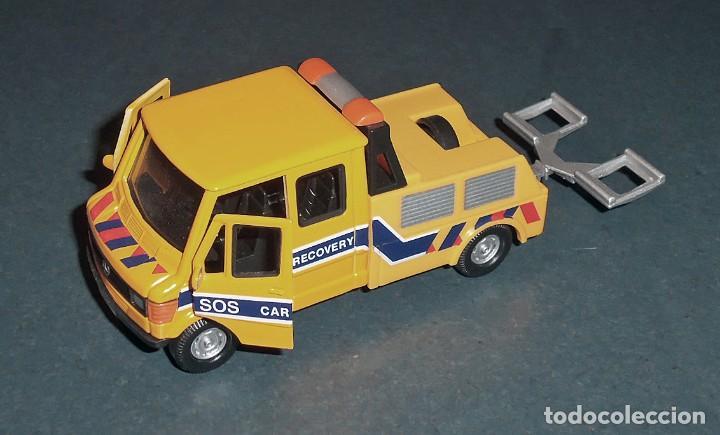 Coches a escala: Lote 5 Camiones MERCEDES Obras Públicas - ¡NUEVOS! - Foto 5 - 186377365