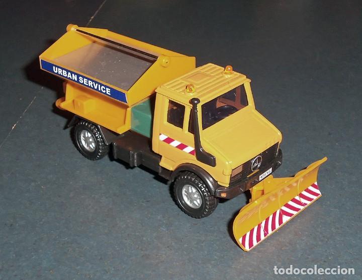 Coches a escala: Lote 5 Camiones MERCEDES Obras Públicas - ¡NUEVOS! - Foto 6 - 186377365