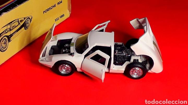 Coches a escala: Porsche 904 Carrera GTS ref 535, metal esc. 1/43, Politoys made in Italy, original años 60. Con caja - Foto 3 - 203912620