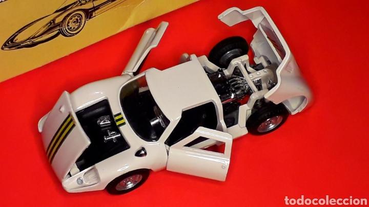 Coches a escala: Porsche 904 Carrera GTS ref 535, metal esc. 1/43, Politoys made in Italy, original años 60. Con caja - Foto 4 - 203912620