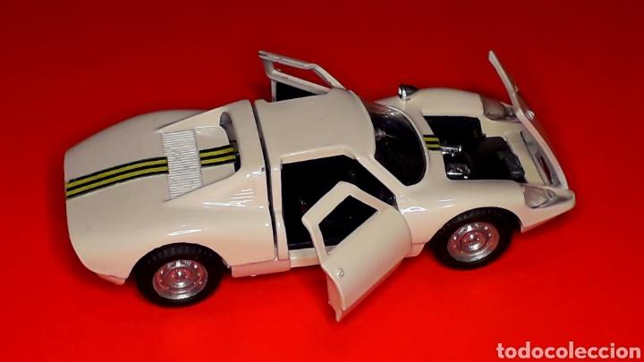 Coches a escala: Porsche 904 Carrera GTS ref 535, metal esc. 1/43, Politoys made in Italy, original años 60. Con caja - Foto 7 - 203912620