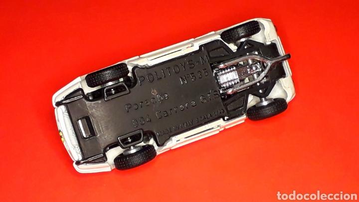 Coches a escala: Porsche 904 Carrera GTS ref 535, metal esc. 1/43, Politoys made in Italy, original años 60. Con caja - Foto 10 - 203912620