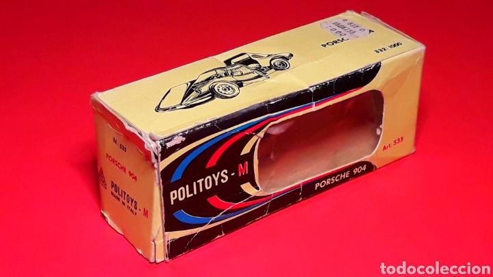 Coches a escala: Porsche 904 Carrera GTS ref 535, metal esc. 1/43, Politoys made in Italy, original años 60. Con caja - Foto 11 - 203912620