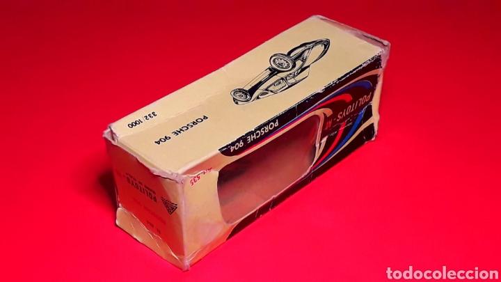 Coches a escala: Porsche 904 Carrera GTS ref 535, metal esc. 1/43, Politoys made in Italy, original años 60. Con caja - Foto 13 - 203912620