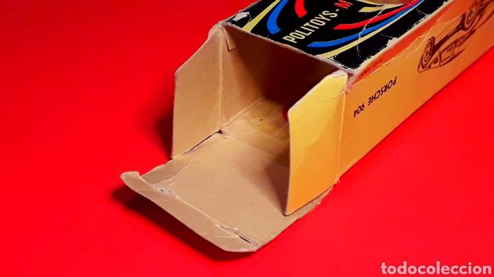 Coches a escala: Porsche 904 Carrera GTS ref 535, metal esc. 1/43, Politoys made in Italy, original años 60. Con caja - Foto 15 - 203912620