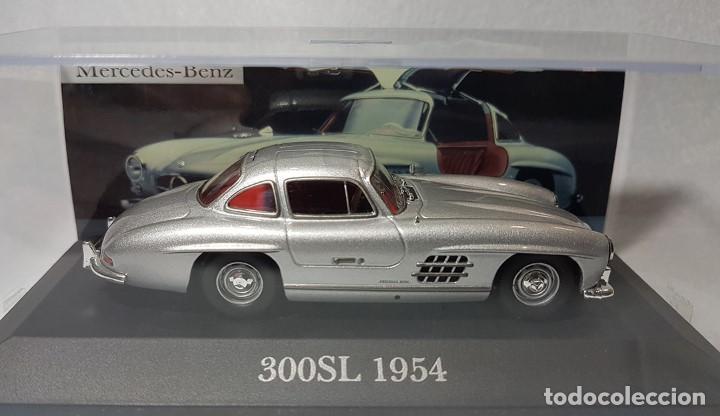 Coches a escala: ALTAYA MERCEDES 300SL 1954 COLECCIÓN MERCEDES LA LEYENDA 2007 1:43 DIE CAST - Foto 5 - 262107420