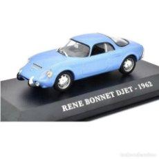 Voitures à l'échelle: RENE BONNET DJET 1962 1:43 COCHES FRANCESES DE ANTAÑO IXO ALTAYA DIECAST. Lote 204214638