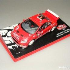 Coches a escala: FORD FOCUS WRC - 75 RALLYE MONTECARLO 2005 - ALTAYA - CAJA EXPOSITOR ORIGINAL.. Lote 188774912