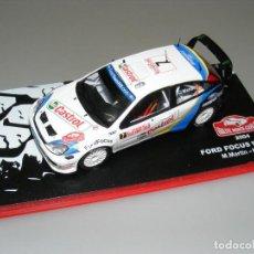 Coches a escala: FORD FOCUS WRC - 72 RALLYE MONTECARLO 2004 - ALTAYA - CAJA EXPOSITOR ORIGINAL.. Lote 188774985