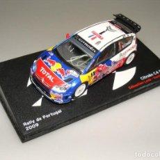 Coches a escala: CITROËN C4 WRC - 43 RALLYE PORTUGAL 2009 - ALTAYA - CAJA EXPOSITOR ORIGINAL.. Lote 188775288