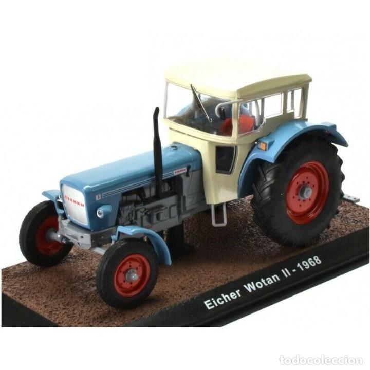 Eicher Tiger 1959 1:32 Tractor agrícola Atlas diecast