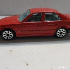 Coches a escala: COCHE BURAGO BMW 535I EN COLOR ROJO ESCASO. Lote 190009271