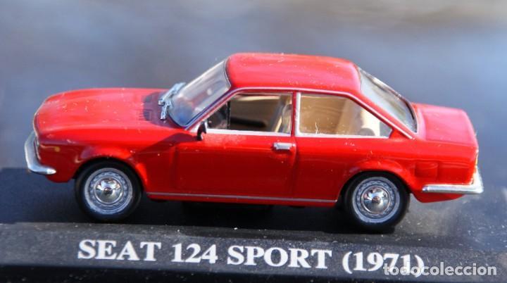 Coches a escala: SEAT 124 SPORT 1971 ESCALA 1:43 ALTAYA EN CAJA - Foto 7 - 190226940
