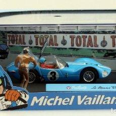 Coches a escala: MICHEL VAILLANT VAILLANTE LE MANS 61 ESCALA 1/43 NUEVO. Lote 218349013