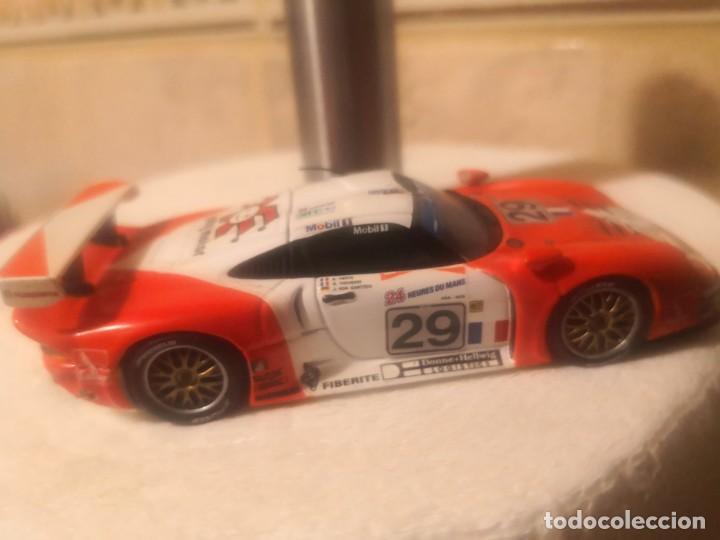 Coches a escala: Minichamps maqueta de coche 1:43 Porsche 911 GT 1 le mans - Foto 3 - 190564247