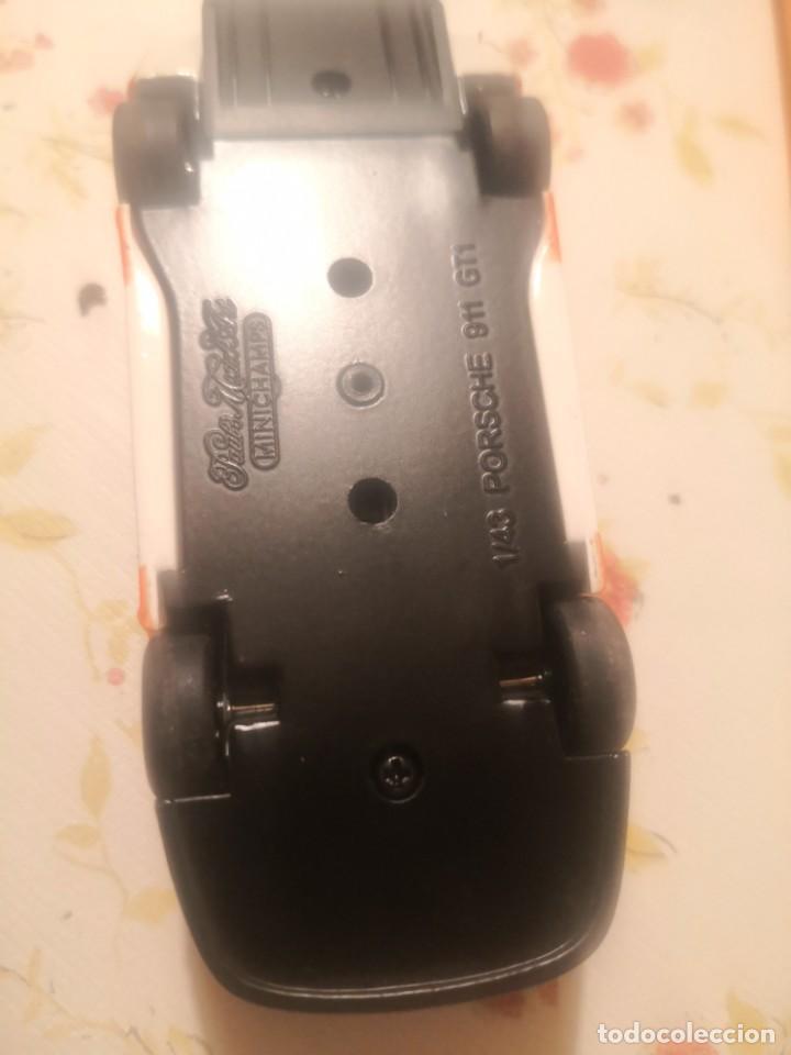 Coches a escala: Minichamps maqueta de coche 1:43 Porsche 911 GT 1 le mans - Foto 6 - 190564247