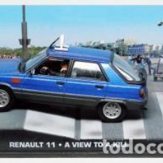 Coches a escala: RENAULT 11 JAMES BOND 007. Lote 190623285