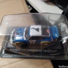 Coches a escala: BLISTER PRECINTADO COCHE PORSCHE 911 CARRERA RS RALLYE RALLY. Lote 191122647