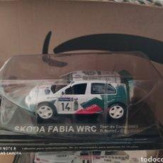 Coches a escala: BLISTER PRECINTADO COCHE SKODA FABIA WRC RALLY RALLYE. Lote 191256290