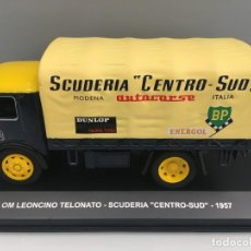 Coches a escala: CAMIÓN OM LEONCINO TELONATO- SCUDERIA CENTRO-SUD 1957. ESCALA 1/43. REFERENCIA 93. . Lote 191294336