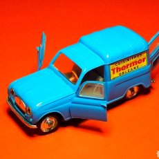 Coches a escala: RENAULT 4 FOURGONNETTE THERMOR REF. 65, PLÁSTICO ESC. 1/43, NOREV MADE IN FRANCE, ORIGINAL AÑOS 60.. Lote 191320835