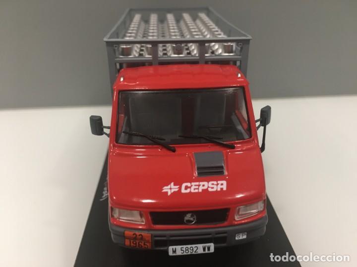 Coches a escala: Vehiculo de reparto pegaso daily cepsa 1994. ESCALA 1/43 - Foto 6 - 289629488
