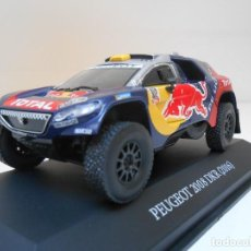 Coches a escala: 302 COCHE PEUGEOT 2008 DKR 1/43 2016 RALLY DAKAR PETERHANSEL CAR 1:43 RALLYE. Lote 193782203