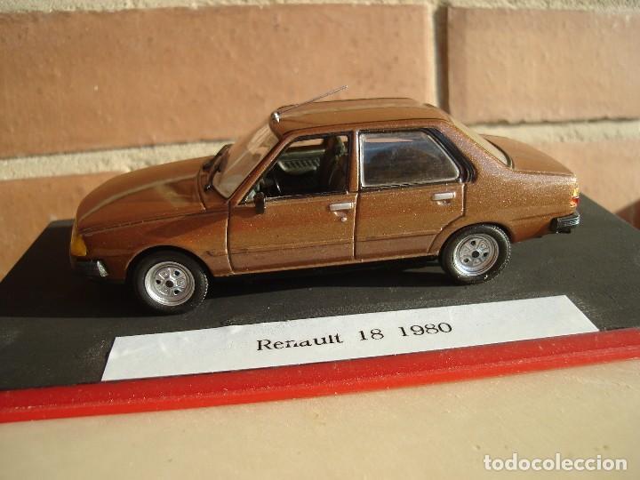 Coches a escala: Renault 18 de 1980.Altaya. - Foto 2 - 194101357
