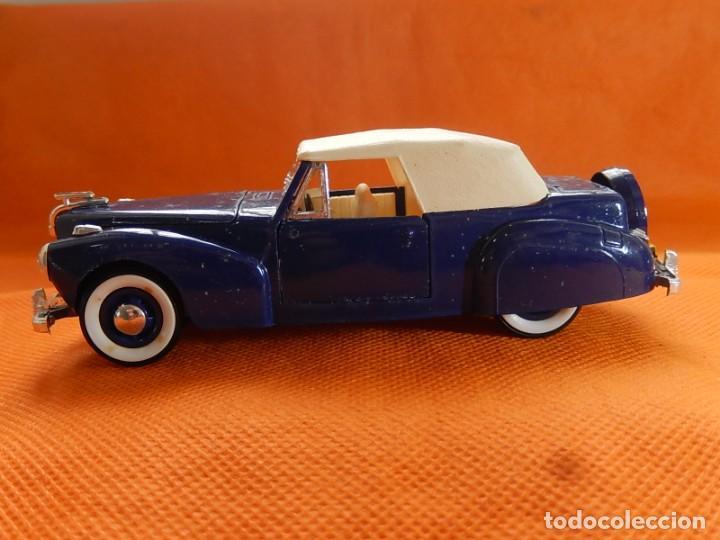 Coches a escala: Lincoln Continental 1946. Fabricado en Italia por Rio. Años 1970 / 80. - Foto 2 - 194118186