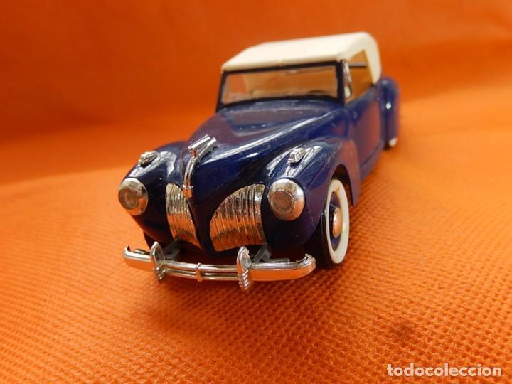 Coches a escala: Lincoln Continental 1946. Fabricado en Italia por Rio. Años 1970 / 80. - Foto 3 - 194118186