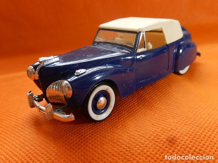 Coches a escala: Lincoln Continental 1946. Fabricado en Italia por Rio. Años 1970 / 80. - Foto 4 - 194118186
