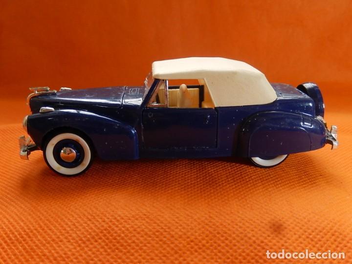 Coches a escala: Lincoln Continental 1946. Fabricado en Italia por Rio. Años 1970 / 80. - Foto 5 - 194118186