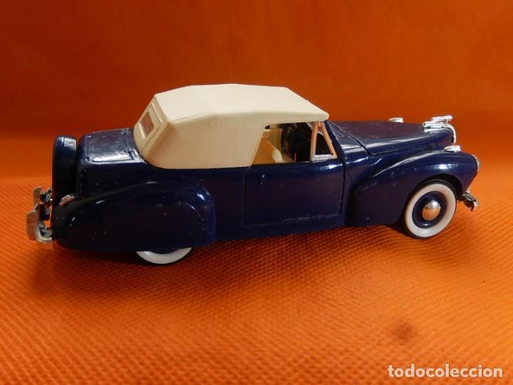 Coches a escala: Lincoln Continental 1946. Fabricado en Italia por Rio. Años 1970 / 80. - Foto 9 - 194118186