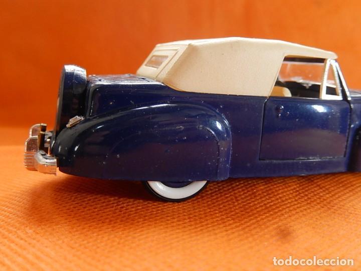 Coches a escala: Lincoln Continental 1946. Fabricado en Italia por Rio. Años 1970 / 80. - Foto 10 - 194118186