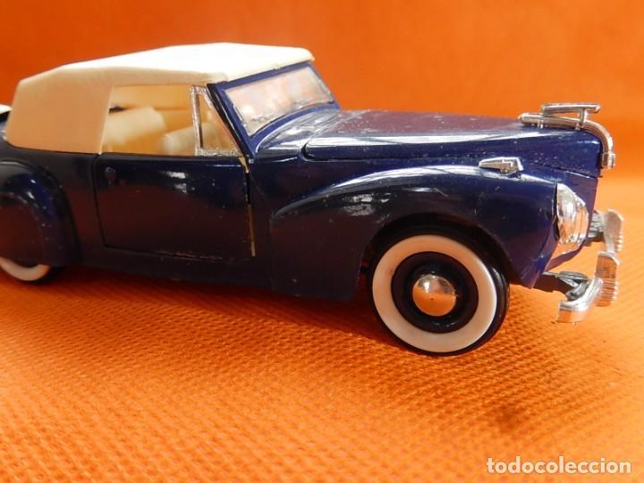 Coches a escala: Lincoln Continental 1946. Fabricado en Italia por Rio. Años 1970 / 80. - Foto 11 - 194118186