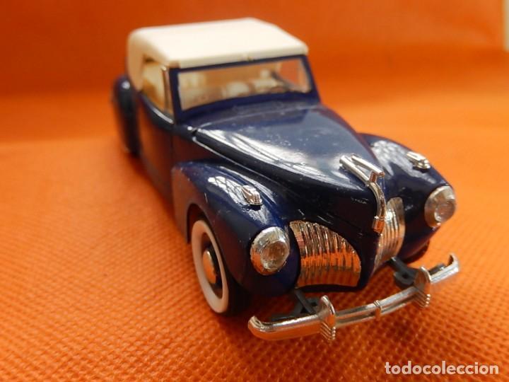 Coches a escala: Lincoln Continental 1946. Fabricado en Italia por Rio. Años 1970 / 80. - Foto 12 - 194118186