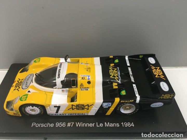 Coches a escala: Coche porsche 956#7 winner le mans 1984. K. Ludwig- H. Pescarolo SPARK escala 1/43 - Foto 9 - 286895048