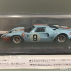 Coches a escala: COCHE FORD GT 40#9 WINNER LE MANS 1968. P. RODRIGUEZ- J. GIANCHI. SPARK ESCALA 1/43 . Lote 194216490