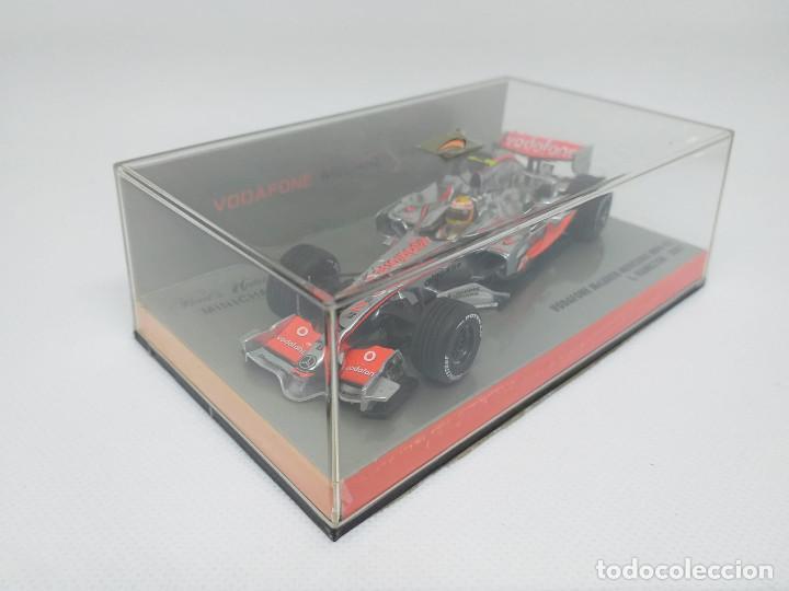 Coches a escala: MINICHAMPS 1:43 - Vodafone McLaren Mercedes MP4-22 - L.Hamilton 2007 - Foto 2 - 194288151
