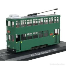 Coches a escala: TRANVIA 6TH GENERATION HKT 1986 1:87 H0 IXO ATLAS DIECAST. Lote 194303431