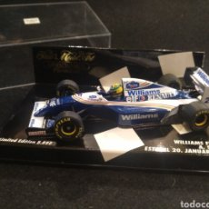 Coches a escala: MINICHAMPS, WILLIAMS FW15 ESTORIL 20, PAUL'S MODELO ART, EDICIÓN LIMITADA. Lote 194311745
