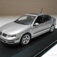 Coches a escala: COCHE SEAT TOLEDO GRIS SILVER MINICHAMPS 1/43 1:43 CAR MIB PAUL MODEL ART ALFREEDOM. Lote 194330600
