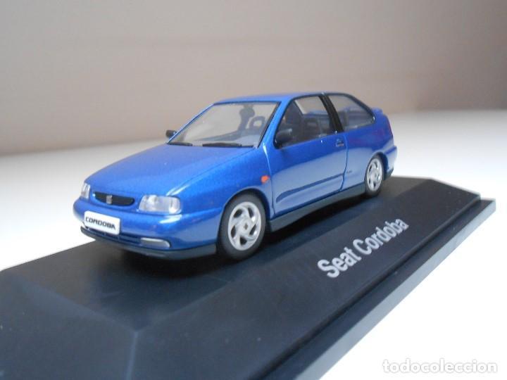 Coches a escala: COCHE SEAT CORDOBA SX TDI 1996 AZUL HERPA 1/43 1:43 IXO MODEL CAR MIB BLUE miniature miniatura auto - Foto 2 - 194331352