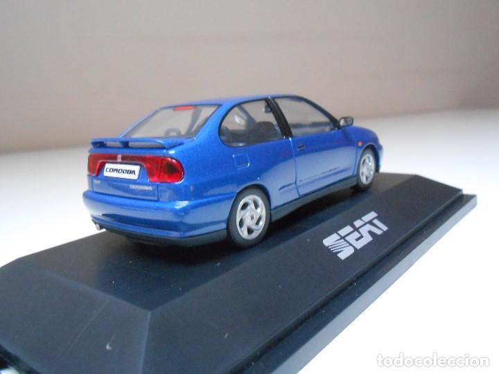 Coches a escala: COCHE SEAT CORDOBA SX TDI 1996 AZUL HERPA 1/43 1:43 IXO MODEL CAR MIB BLUE miniature miniatura auto - Foto 3 - 194331352