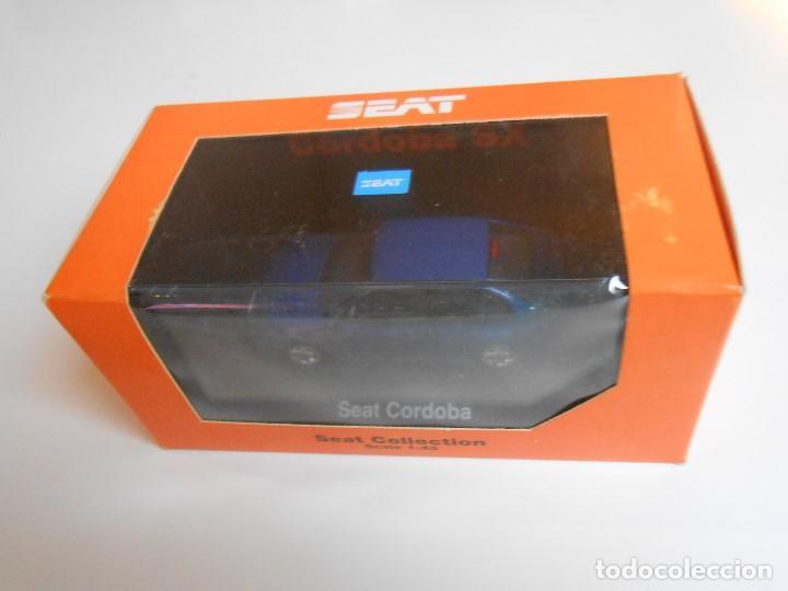 COCHE SEAT CORDOBA SX TDI 1996 AZUL HERPA 1/43 1:43 IXO MODEL CAR MIB BLUE MINIATURE MINIATURA AUTO (Juguetes - Coches a Escala 1:43 Otras Marcas)