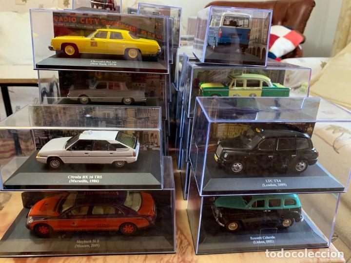 Coches a escala: Taxis del mundo - Altaya 2013 - Coleccion completa - Coches clasicos miniaturas - Foto 3 - 194405998