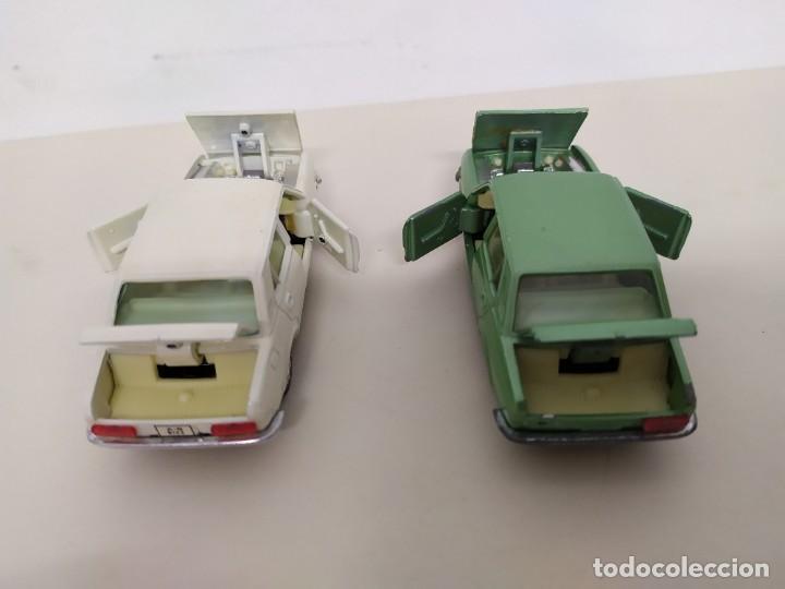 Coches a escala: JOAL - SEAT 132 LOTE DE DOS COCHES CREMA Y VERDE - Foto 4 - 194509333