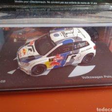 Coches a escala: VOLKSWAGEN POLO R WRC DEL RALLY GB 2013. Lote 194568438