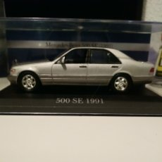 Coches a escala: MERCEDES-BENZ SE 500 1991. Lote 194580621