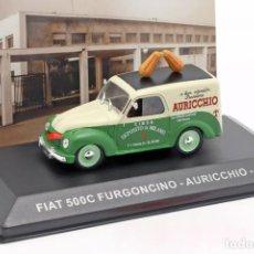 Coches a escala: COCHE E: 1:43. FIAT 500C FURGONCINO AURICCHIO. Lote 194676805
